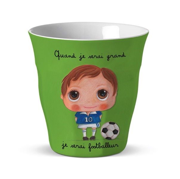 "Vaso ""Label Tours"" Futbolista"