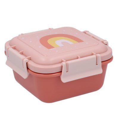 Caja Almuerzo Grande Arcoíris Rosa