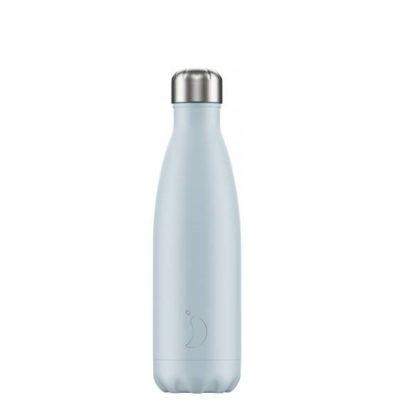 Botella Chillys Blush Azul Sky 500 ml.