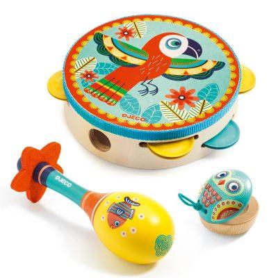 Animambo Conjunto de 3 Instrumentos