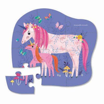 Puzzle Mini Unicorn 12 pc