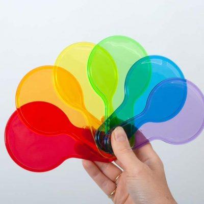 Translucent Colour Paddle Set