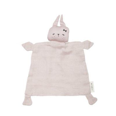 Doudou Animal Bunny Mauve Personalizable