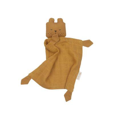 Doudou Animal Bear Ochre Personalizable
