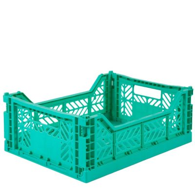 Caja Lillemor Plegable Mediana Mint