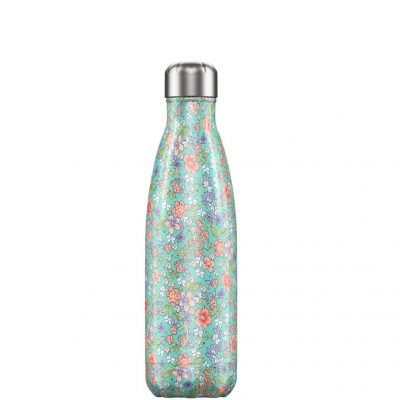 Botella Inox Peonias 500ml