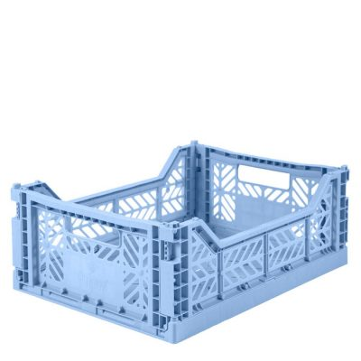 Caja Lillemor Plegable Mediana Blue