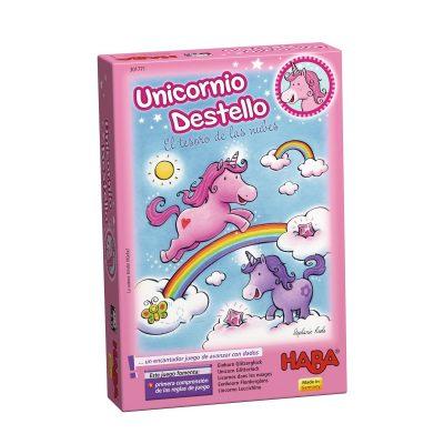 Unicornio Destello El Tesoro de las Nubes ESP