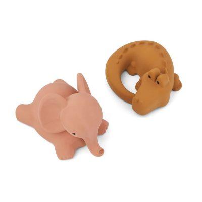 Vikky Bath Toys 2-pack Safari Dark Rose Mix