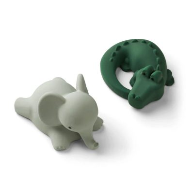 Vikky Bath Toys 2-pack Safari Green Mix