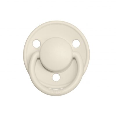 2 Chupetes BIBS DE Lux Ivory/Baby Pink