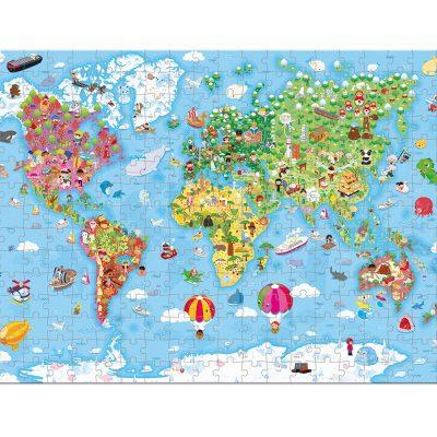 """Puzle Gigante """"Atlas Mundial"""" 300 pzas"""