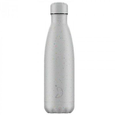 Botella Chillys Moteada Gris 500 ml.
