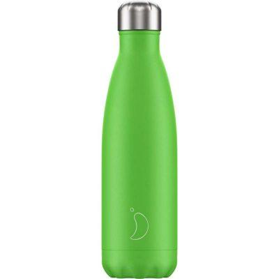 Botella Chillys Neon Verde 500 ml.