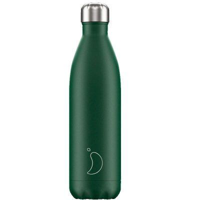 Botella Chillys Mate Verde 750 ml.