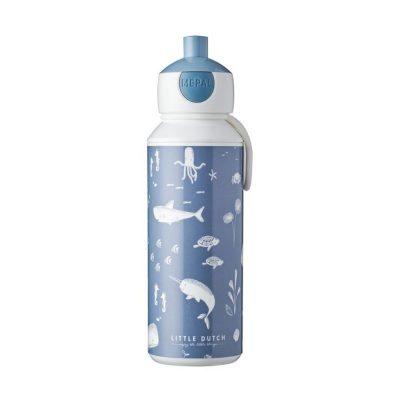 Campus Botella Pop-up 400 ml - Ocean
