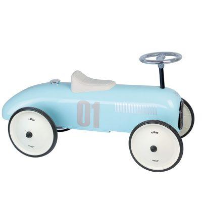 Light Blue Vintage Car