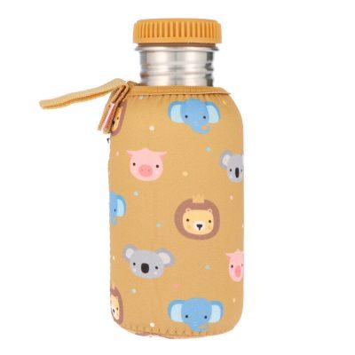 Botella Acero con Funda Animal Friends 500ml