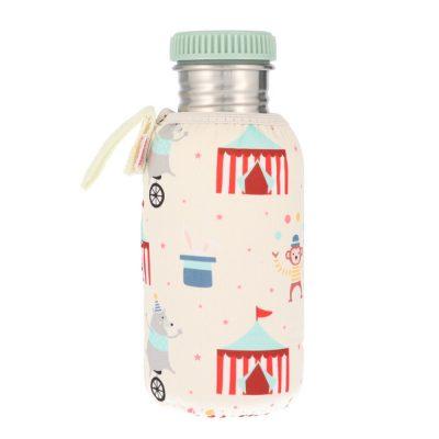 Botella Acero con Funda Circus 500ml
