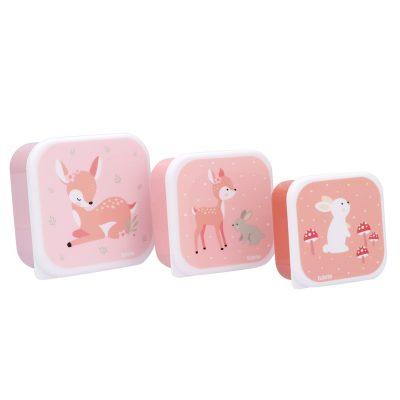 3 Cajas Almuerzo Sweet Deer