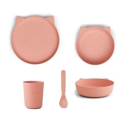 Paul Tableware Set Cat Rose Blush
