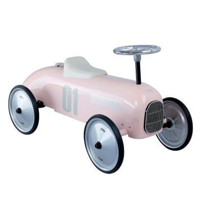 Light Pink Vintage Car