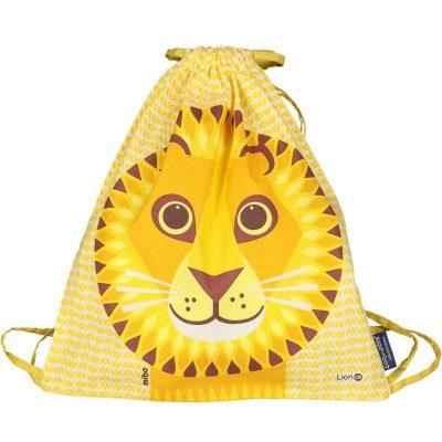 Rucksack MIBO LION - Print + Jaune