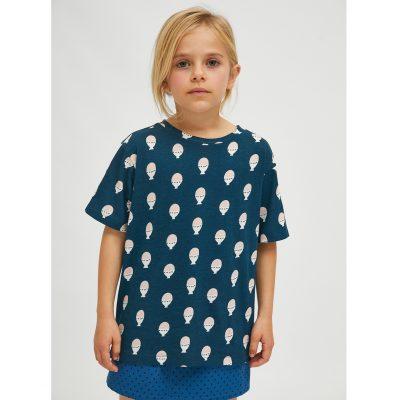 Camiseta Unisex de Algodón con Estampado de Huevos Duros