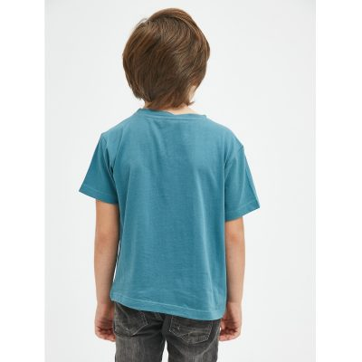 Camiseta Unisex de Algodón con Animal Print de Dinosaurios