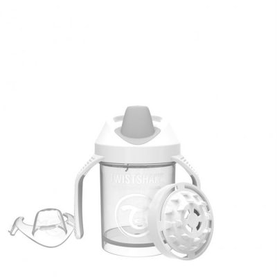 Twistshake Mini Cup Pastel Blanco 230ml 4+m
